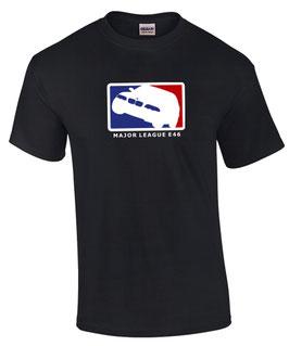 E46 MAJOR LEAGUE T-Shirt Tuning Teile Zubehör m 3 m3 3er Auto e 46, für BMW Dreier