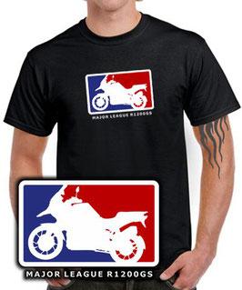T-Shirt R1200GS MAJOR LEAGUE Tuning Teile Zubehör r 1200 gs r1200 Motorrad , für BMW Biker