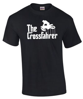 THE CROSSFAHRER T-Shirt Motocross Biker Spruch lustig Enduro