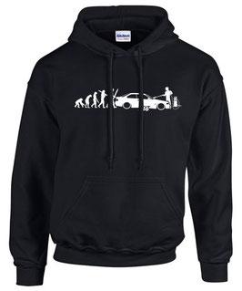 E36 Tuning Sweatshirt EVOLUTION Teile Zubehör 3er m3 m 3 Auto e 36 Hoodie, für BMW Dreier
