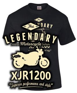 T-Shirt LEGENDARY MOTORCYCLE XJR 1200 Tuning Teile Zubehör xjr1200 , für Yamaha Biker