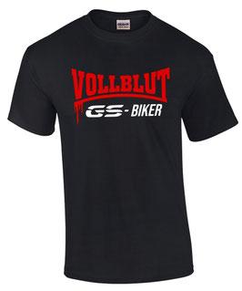 T-Shirt Vollblut GS BIKER F R 700 800 850 1100 1150 1200 1250 r1100gs r1150gs r1200gs r1250gs , für BMW Biker