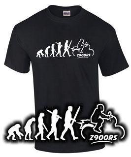 T-Shirt Z900RS EVOLUTION Tuning Teile Zubehör z 900 rs z900 rs Motorrad, für Kawasaki Biker
