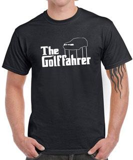 Golf 3 T-Shirt THE GOLFFAHRER MK3 Tuning Teile Zubehör gti 16v vr6 mk 3 , für VW Golf