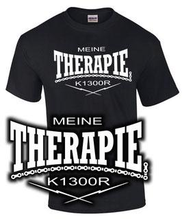 T-Shirt MEINE THERAPIE K1300R Tuning Teile Zubehör k 1300 r , für BMW Biker