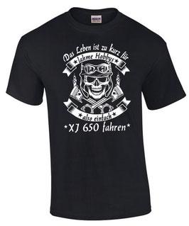 T-Shirt LEBEN HOBBY XJ 650 Tuning Teile Zubehör xj650 diversion , für Yamaha Biker