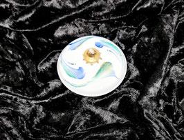 Oellampe aus Porzellan