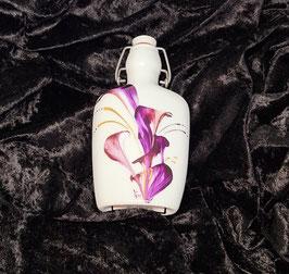 Schnapsflasche aus Porzellan
