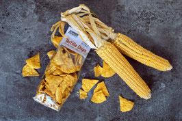 Tortilla Chips aus Riebelmais