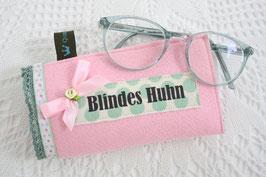 Brillenetui Blindes Huhn