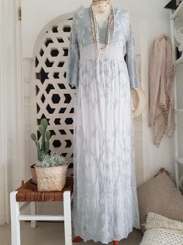 Hippie Kleid Spitze lang