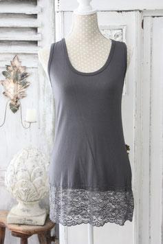 Basic Shirt Lagenlook mit Spitze