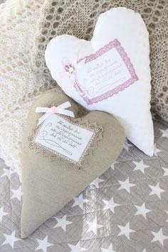 Valentinstag Herz Kissen