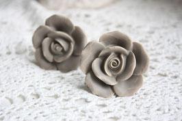 Möbel Keramikknauf Knopf Rose