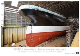PEKING ǀ Wewelsfleth ǀ Restaurierung - zweites Jahr