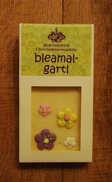 bleamal-gartl, weiß