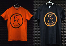 "T-Shirt: ""Classic"" (Schwarz / Orange)"
