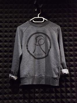 Sweatshirt (Dunkelgrau / Hellgrau)
