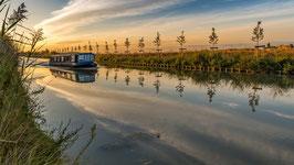 Tirage d'Art | Lever de soleil sur le Canal du Midi