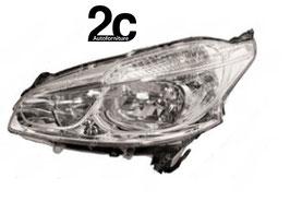 Faro Anteriore Sx H7+H7 Senza/Motorino 2012>2015