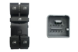 Pulsantiera 4 Interruttori Porta Anteriore Sx e Alzacristalli Posteriori 10 Pins