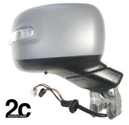 Specchio Dx Elettrico C/Primer Termico C/Sonda e Fanalino ABBATTIBILE