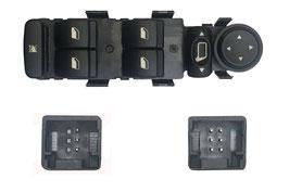 Pulsantiera  Porta Ant Sx 4 Interruttori +Blocco+Retrovisori Elettrici