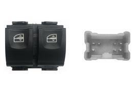 Pulsantiera 2 Interruttori Porta Anteriore Sx Connettore Giallo 7 Pins
