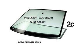 Parabrezza Verde C/Fascia Grigia Pred. Sensore Estruso