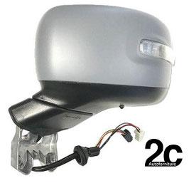 Specchio Sx Elettrico C/Primer Termico e Fanalino Chiudibile Antiabbagliante