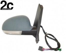 Specchio Sx Elettrico Termico C/Primer  Fanalino Ribaltabile +Luce Di Cortesia
