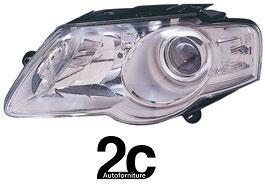 Faro Anteriore Sx Modello Hella H7+H7 C/Motore