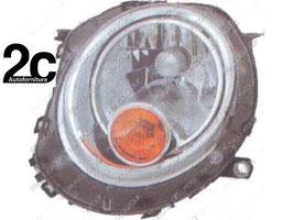Faro Anteriore Sx H4 C/Motore  Fanalino Arancione
