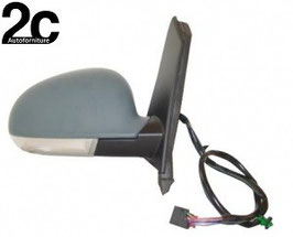 Specchio Dx Elettrico Termico  C/Primer   Fanalino  Ribaltabile + Luce Di Cortesia
