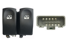 Pulsantiera 2 Interruttori Porta Anteriore Sx Connettore Grigio 10 Pins