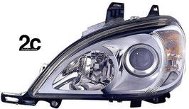 Faro Anteriore Sx 02>05 H7+H7 C/Motore