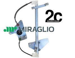 Meccanismo Alzavetro Elettrico Anteriore Dx  = Pegeout 108-Citroen C1