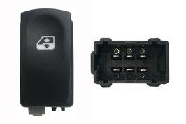 Interruttore Porta Anteriore Dx +Posteriore Dx/Sx Connettore Nero 6 Pins