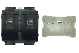 Pulsantiera 2 Interruttore Porta Anteriore Sx +Confort Connettore Bianco 7 Pins
