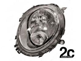 Faro Anteriore Sx C/Fanalino Bianco H4 R55 2007>2014