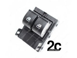 Pulsantiera Nera 2 Interruttori Porta Anteriore Sx 8 Pin