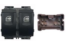 Pulsantiera 2 Interruttori Porta Anteriore Sx Connettore Marrone 7 Pins