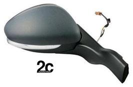 Specchio Dx Elettrico Termico C/Fanalino  Ribaltabile c/Sonda