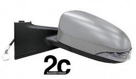 Specchio Sx Elettrico Termico C/Primer e Fanalino 7H/5P