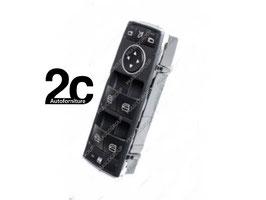 Pulsantiera Nera  4 Interruttori Alzacristalli Porta Anteriore Sx 3 Pins C/Funzione Chiusura Retrovisori