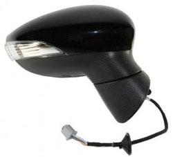 Specchio Dx Elettrico C/Primer Ribaltabile 8 Pin