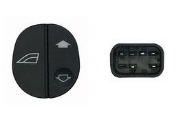 Interruttore Porta Anteriore Dx C/Logo Alzavetro 6 Pin