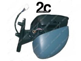 Specchio Sx  Elettrico Termico C/Primer C/ Sonda
