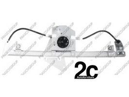 Meccanismo Alzavetro Elettrico Ant  Dx  3/5 Porte