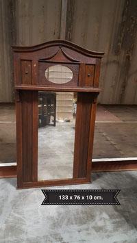 antieke spiegel Kuif